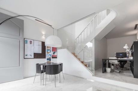 Тройной дом (Three Cusps Chalet) в Португалии от Tiago do Vale Arquitectos.