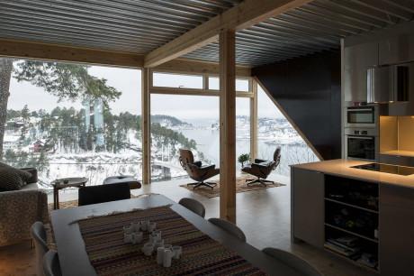 Дом Близнецов (Twins House) в Норвегии от JVA.