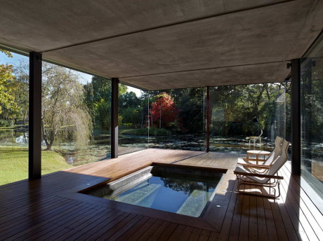 Павильон Вирра Вилла (Wirra Willa Pavilion) в Австралии от Matthew Woodward Architecture.