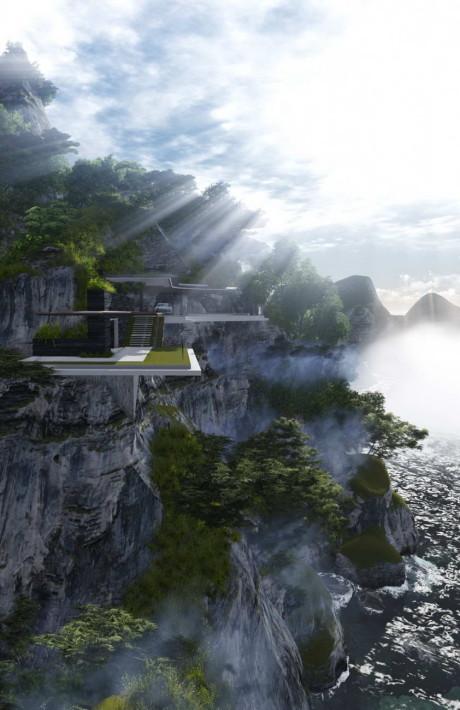 Проект дома мечты на острове