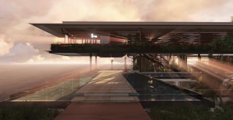 Дом на острове (Xalima Island House) от Martin Ferrero Architecture.