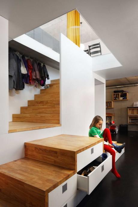 Дом с нулевым потреблением энергии (Zero Energy House) в Бельгии от BLAF Architecten.
