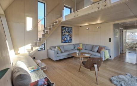 Дом Arne Garborgsvei 18 в Норвегии от TYIN Tegnestue.