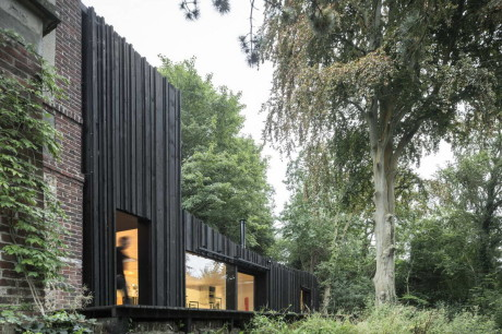 Расширение дома во Франции