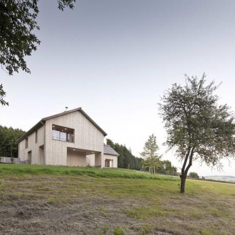 Деревянный дом в Австрии