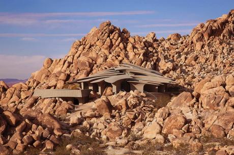 Дом в пустыне (Desert House) в США от Kendrick Bangs Kellogg.