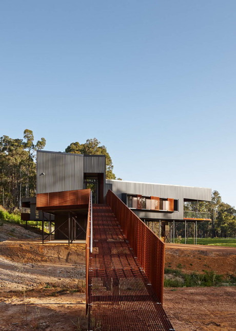 Дом Наннап (Nannup Holiday House) в Австралии от Iredale Pedersen Hook Architects.