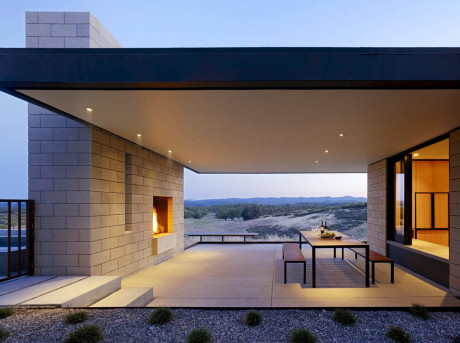 Резиденция Пасо Роблес (Paso Robles Residence) в США от Aidlin Darling Design.