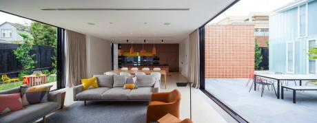 Дом из трёх частей (Three Parts House) в Австралии от Architects EAT.