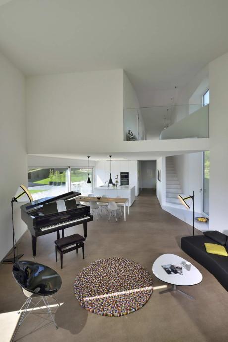 Вилла Dind (Villa Dind) в Швейцарии от Link architectes.
