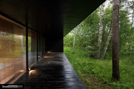 Проект современного загородного дома в России