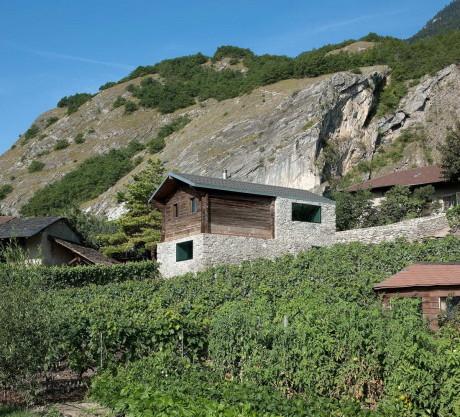 Реконструкция дома в Швейцарии
