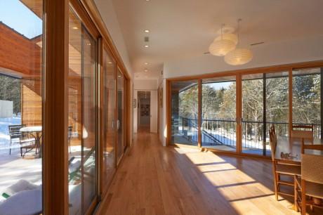 Дом у реки (Holston River House) в США от Sanders Pace Architecture.