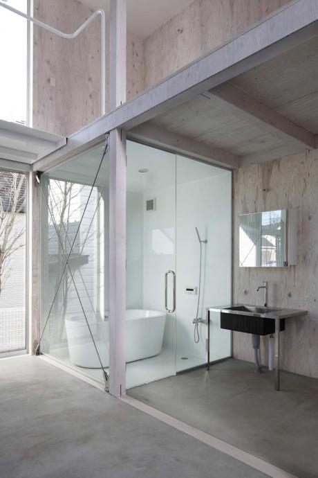 Дом в Касива (House in Kashiwa) в Японии от Yamazaki Kentaro Design Workshop.