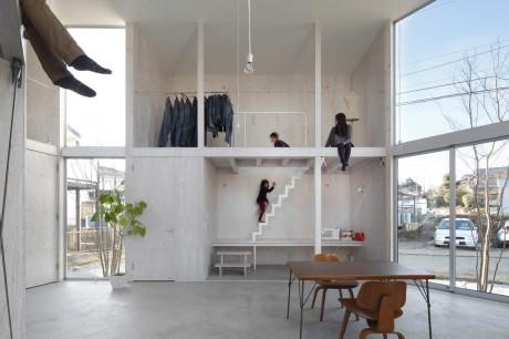 Минималистский дом в Японии