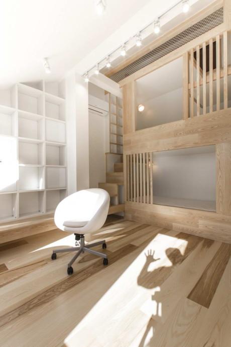 Жилой чердак (Loft Apartment) в России от Ruetemple.
