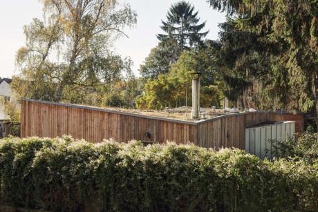 Дом Ревнице (RD Revnice) в Чехии от atelierSAD.