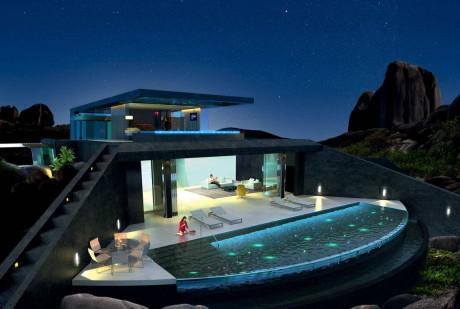 Резиденция Один (Residence One) на Сейшельских островах от Studio RHE