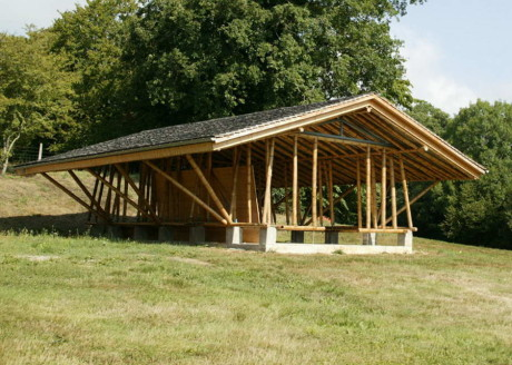 Бамбуковые дома (Bamboo Houses) во Франции от Simon Velez.