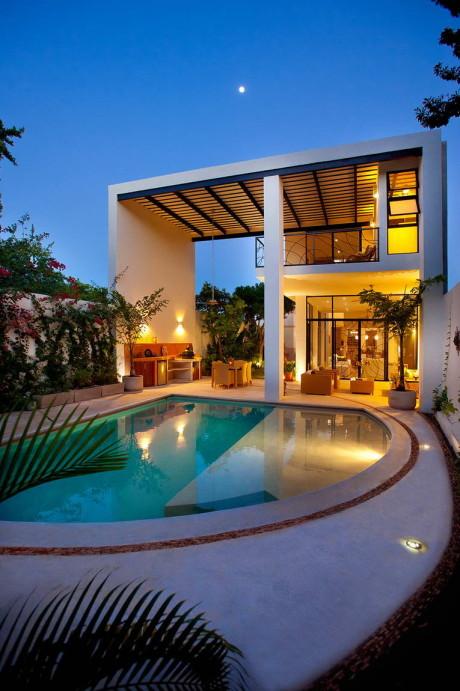 Длинный дом в Мексике