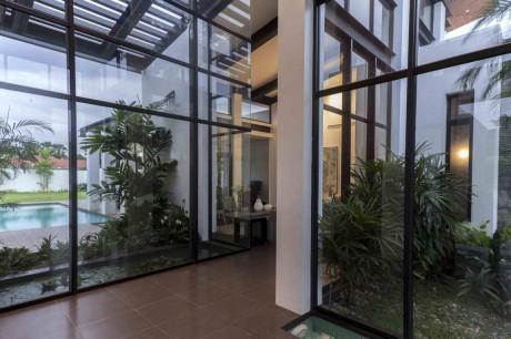 Дом М (Casa M) в Эквадоре от Jannina Cabal & Arquitectos.
