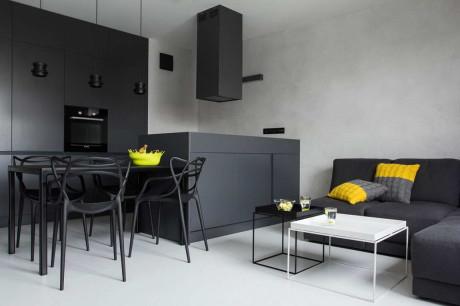Бетонный концепт (Concrete Concept) в Польше от KASIA ORWAT.