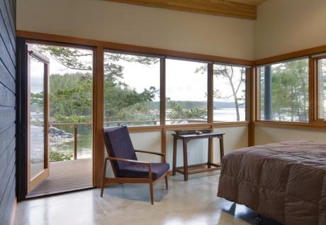 Дом на острове (Cortes Island Residence) в Канаде от Balance Associates Architects.