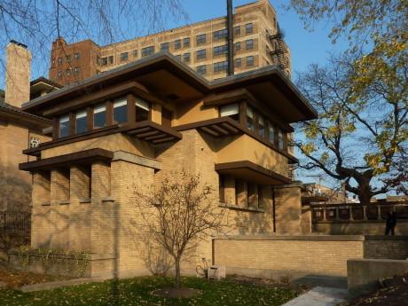 Дом Эмиля Баха (Emil Bach House) в США от Фрэнка Ллойда Райта (Frank Lloyd Wright).
