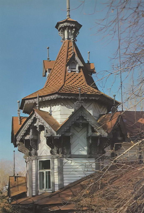 Дом с шатром (Дом купца Г.М.Голованова) в России от С.В.Хомича.