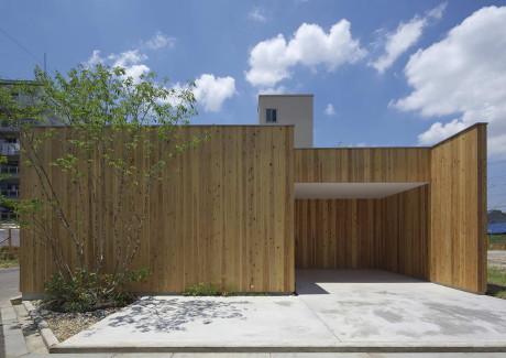 Дом в Нишимикуни (House in Nishimikuni) в Японии от Arbol Design.