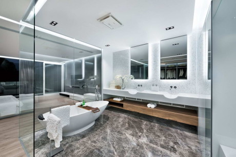 Дом в Саи Кунг (House in Sai Kung) в Китае от Millimeter Interior Design.