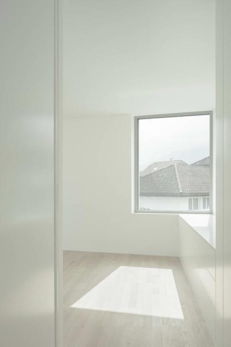 Дом в округе Марх (House in the March District) в Швейцарии от Kit Architects.