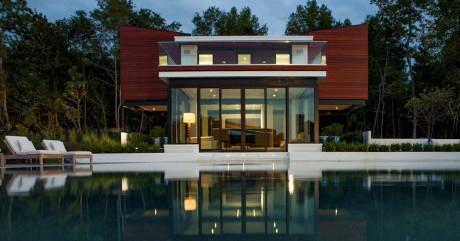 Дом на воде (On Water) в США от Kersting Architecture.