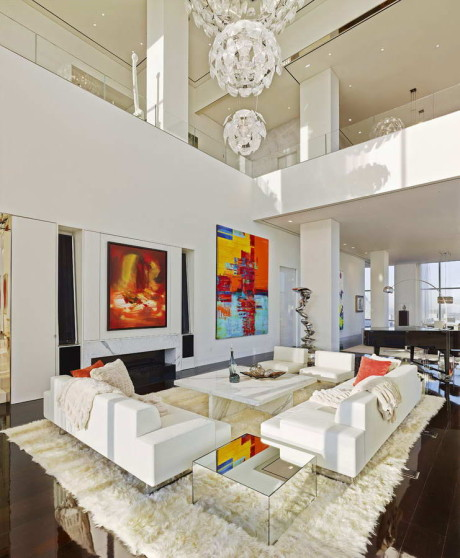Пентхаус (Penthouse) в США от ODA Architecture.