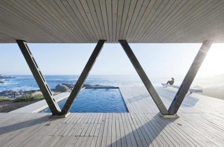 Дом Рамбла (Rambla House) в Чили от LAND Arquitectos.