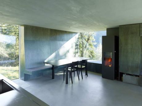 Дом Савиоз (Savioz House) в Швейцарии от Savioz Fabrizzi Architecte.