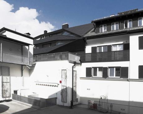Пространство под крышей (Schafer Roofscape) в Италии от Plasma Studio.