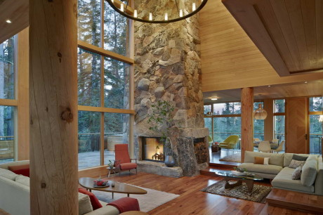 Дом Гнездо Вороны (The Crows Nest) в США от BCV Architects.