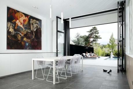 Дом С (C House) во Франции от Lode Architecture.
