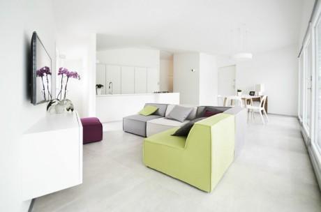 Дом-студия (Casa Studio) в Италии от fds officina di architettura.