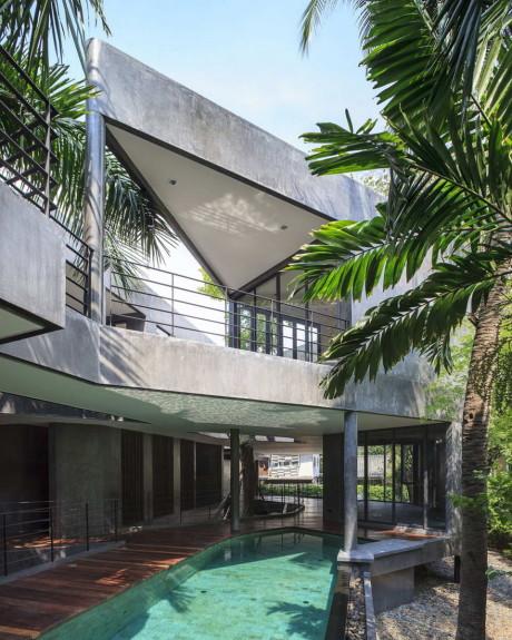 Дом Дивергенция (Divergence House) в Таиланде от FOS.