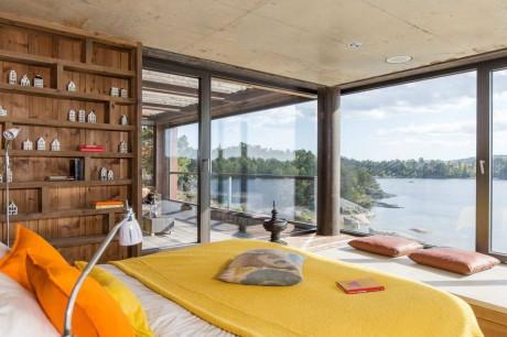 Дом в Сальтшёбадене (Home in Saltsjobaden) в Швеции.