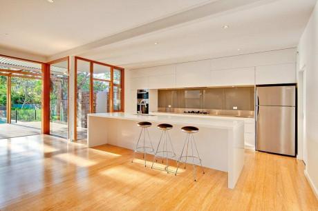 Резиденция Кенсингтон (Kensington Residence) в Австралии от CplusC Architectural Workshop.