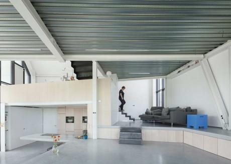 Дом Леу (Leeuw House) в Бельгии от NU architectuuratelier.