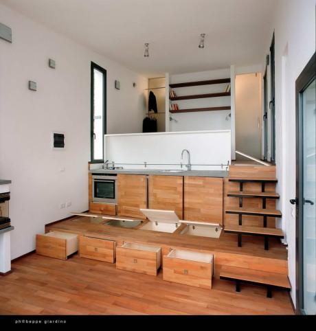 Дом в три уровня (Three levels) в Италии от studioata.