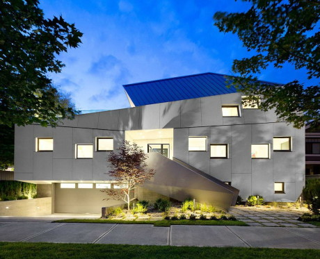 Дом Вангло (Vanglo House) в Канаде от LWPAC & Vanglo.