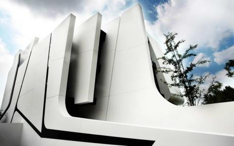 Заплетённый дом (Weave House) в Испании от A-cero.