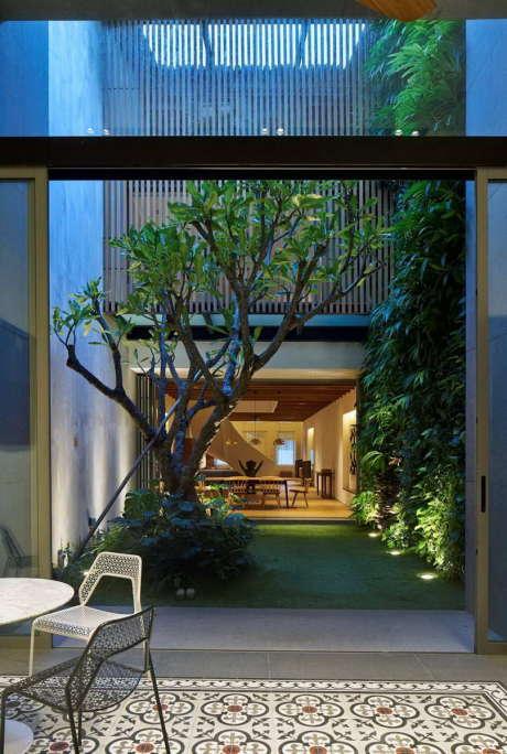 Дом-17BR (17BR-House) в Сингапуре от ONG&ONG.