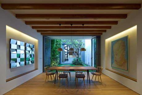 Реконструкция городского дома в Сингапуре