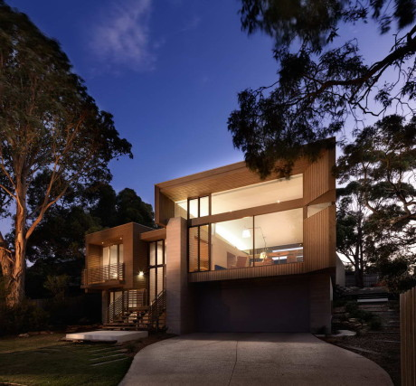 Дом в Пойнт Лонсдейл (A House at Point Lonsdale) в Австралии от Studio101 Architects.